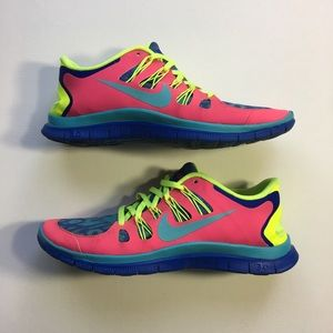 Nike iD/Free 5.0 Women's Running Shoes Size 9.5